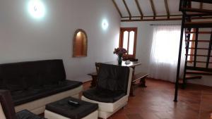 Apartahotel La Gran Familia, Residence  Villa de Leyva - big - 37