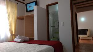 Apartahotel La Gran Familia, Апарт-отели  Вилья-де-Лейва - big - 27