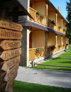2 star namas Hotel Ranč u Edyho Namestovas Slovakija