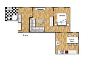 Ferienhaus Binz, Apartmány  Binz - big - 15