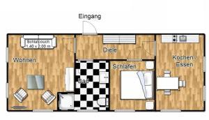 Ferienhaus Binz, Apartmány  Binz - big - 53