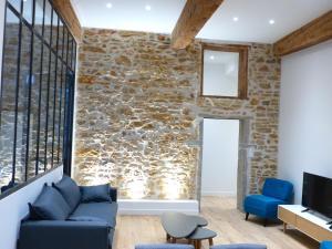 Hyper centre : Appartement Déco Atelier ou Studio Mezzanine, Lyon ...