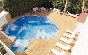 Hotel Saraceno, Отели  Морской Милан - big - 75
