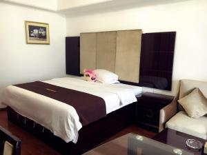 Golden Sunshine Apartment Panyu Wanda Plaza, Apartmány - Kanton