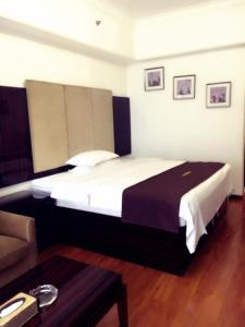 Golden Sunshine Apartment Panyu Wanda Plaza, Apartmány  Kanton - big - 4