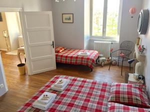 Le Jardin Suspendu B&B, Отели типа «постель и завтрак»  Montfaucon - big - 13