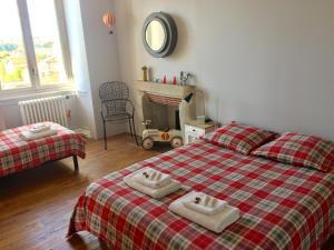 Le Jardin Suspendu B&B, Отели типа «постель и завтрак»  Montfaucon - big - 14