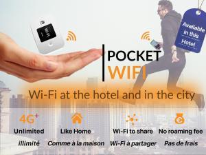 La Manufacture, Hotely  Paříž - big - 62