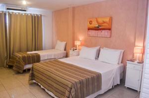 Hotel Residencial Portoveleiro, Гостевые дома  Кабу-Фриу - big - 89