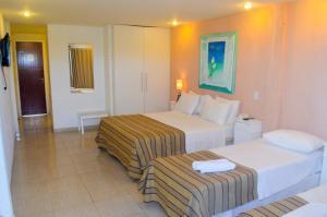 Hotel Residencial Portoveleiro, Гостевые дома  Кабу-Фриу - big - 106