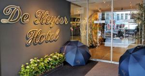 emblème de l'établissement De Keyser Hotel