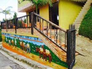 Oak Tree house, Kúriák  Guatapé - big - 236
