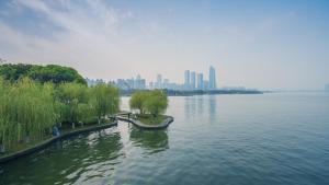 The Pushi Global 188 Serviced Apartment, Appartamenti  Suzhou - big - 77