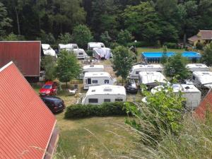 4 stern bungalow Camping Karolina Planá Tschechien