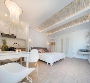 Spiros, Apartmánové hotely  Naxos Chora - big - 123