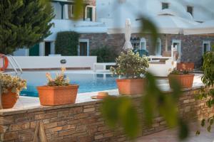 Spiros, Apartmánové hotely  Naxos Chora - big - 148