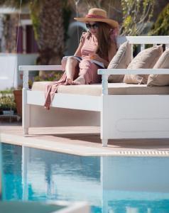 Spiros, Apartmánové hotely  Naxos Chora - big - 167
