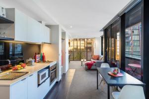 Aura on Flinders Serviced Apartments, Aparthotels  Melbourne - big - 9