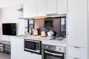 Aura on Flinders Serviced Apartments, Aparthotels  Melbourne - big - 10