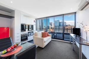 Aura on Flinders Serviced Apartments, Apartmanhotelek  Melbourne - big - 13