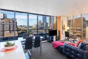 Aura on Flinders Serviced Apartments, Residence  Melbourne - big - 68
