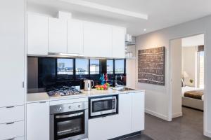 Aura on Flinders Serviced Apartments, Aparthotels  Melbourne - big - 22