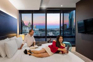 Aura on Flinders Serviced Apartments, Aparthotels  Melbourne - big - 16