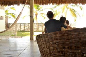Nordestina Casa de Mar, Дома для отпуска  Икараи - big - 5