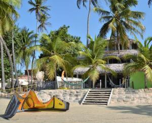 Nordestina Casa de Mar, Дома для отпуска  Икараи - big - 6