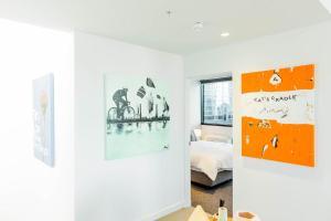 Canvas Suites on Flinders, Apartments  Melbourne - big - 18