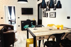BDC - Stylish Industrial Termini 3Bdr apartment - abcRoma.com