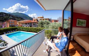 Hotel Holiday Sport & Relax, Hotels  Nago-Torbole - big - 13