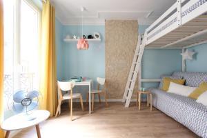 obrázek - Studio in sacre coeur mint and limon