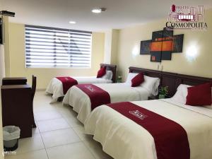 Hotel Cosmopolita Ambato, Отели  Амбато - big - 12