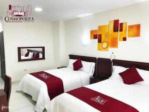 Hotel Cosmopolita Ambato, Szállodák  Ambato - big - 32