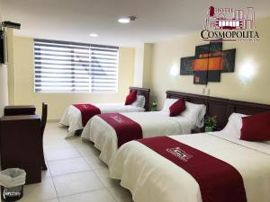 Hotel Cosmopolita Ambato, Отели  Амбато - big - 11