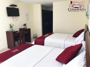 Hotel Cosmopolita Ambato, Отели  Амбато - big - 8