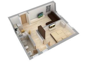 Aparthotel Metropol, Residence  Iaşi - big - 59