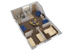 Aparthotel Metropol, Residence  Iaşi - big - 49