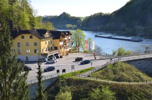 3 hvězdičkový penzion Gasthof zur Donaubrücke Ardagger Markt Rakousko