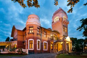 Luxury Art Nouveau Hotel Villa..