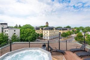 Clarion Collection Hotel Slottsparken, Szállodák  Linköping - big - 72