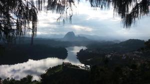Lake View Hostel, Hostelek  Guatapé - big - 32