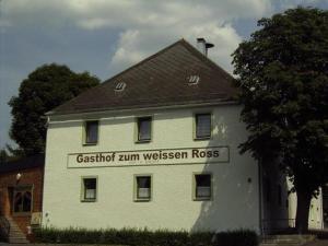 Penzion Gasthof zum weissen Ross Groschlattengrün Německo