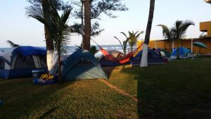 Hotel y Balneario Playa San Pablo, Отели  Монте-Гордо - big - 59