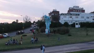 Balcony into Buceo Beach, Ferienwohnungen  Montevideo - big - 57