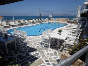 Hotel Milos Agistri Greece