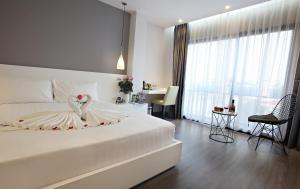 Hanoi Ping Luxury Hotel, Hotely  Hanoj - big - 56