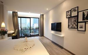 Hanoi Ping Luxury Hotel, Hotely  Hanoj - big - 58