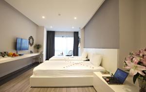 Hanoi Ping Luxury Hotel, Szállodák  Hanoi - big - 43